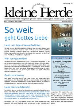 Zeitung 'Kleine Herde'