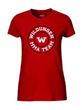 "Frauen T-Shirt ""MMA Team"""