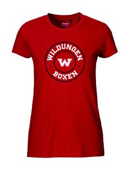 """Frauen T-Shirt """"Boxen"""""""
