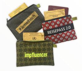 Impfpass-/Reisepass-Tasche