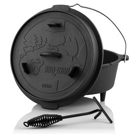 BBQ-Toro Dutch Oven DO6F