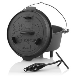 BBQ-Toro Dutch Oven DO45F
