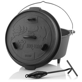 BBQ-Toro Dutch Oven DO9F