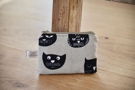 Money Bag Retro Cat