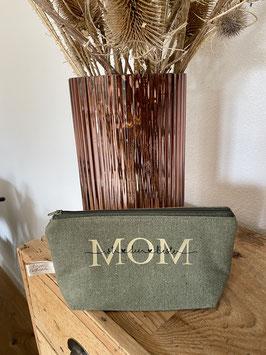 ,,MOM ist die Beste'' Khaki/Gold /Klein