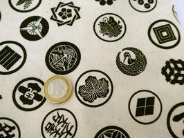 neue Stoffe authentische Japanische Muster/KAMON GARA/Familienwappen Muster
