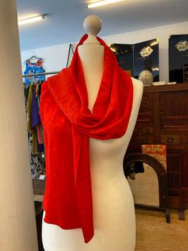 roter Schal 7 aus KIMONO