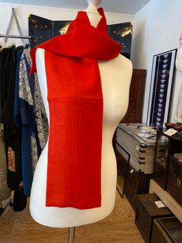 roter Schal 2 aus KIMONO