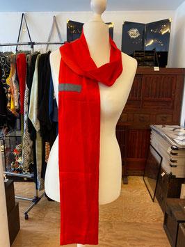 roter Schal 3 aus KIMONO
