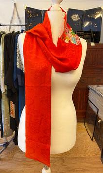 roter Schal 1 aus KIMONO