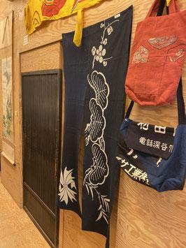 handgearbeitete Vorhang / NOREN 暖簾2