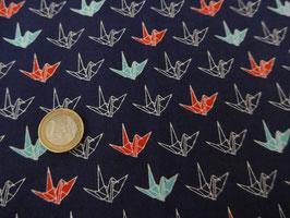 neue Stoffe authentische Japanische Muster/ORIZURUGARA/Papierkranich Muster