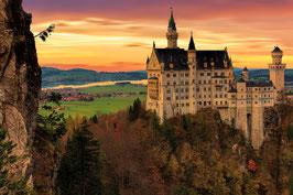 Neuschwanstein Castle + Lechfall + 3 Lakes bicycle tour