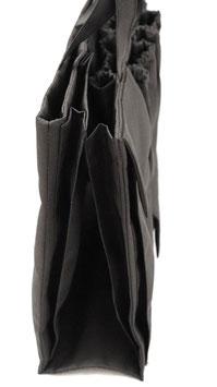 Lilipe Wickeltasche bag in bag - schwarz