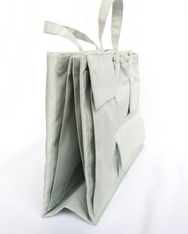 lilibell Wickeltasche - bag in bag grau