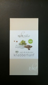 Knabberhanf Salz und Kräuter