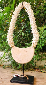 Collar tribal indonesia (conchas blancas - white shells) Indonesian tribal necklace