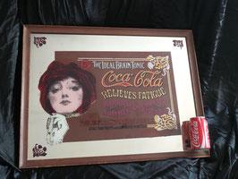 Antiguo espejo ( Coca-Cola ) Old mirror