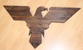 Águila vintage en madera - (Frankfurt) - Vintage eagle on wood