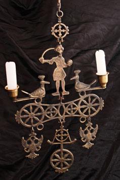 Extraño candelabro Holandés / Strange Dutch candelabrum