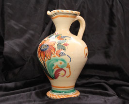 Antigua jarra de cerámica esmaltada (Talavera) Old ceramic jug enamel