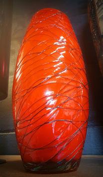 Jarrón Vintage triple cristal  (60s)  Vintage triple crystal vase