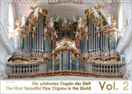 "The Pipe Organ Calendar ""The Most Beautiful Organs in the World Vol. 2"" DIN, A2"