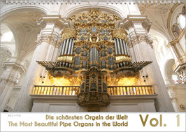 "The Pipe Organ Calendar ""The Most Beautiful Organs in the World Vol. 1"" DIN A2"