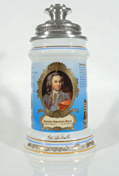 Bach Beer Stein from 2000 + 2 Free Bach Add-Ons *. ABSOLUTELY RARE TO FIND!