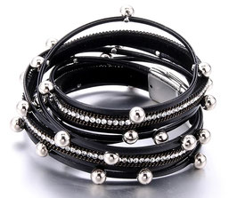 """Bracelet La Femme Fatale """"Noir Absolute"""""""