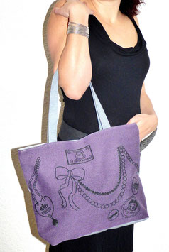 Sac Cabas Betty Purple