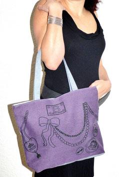 Sac Cabas Betty Purple