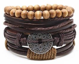 Bracelet Lucky Cuir
