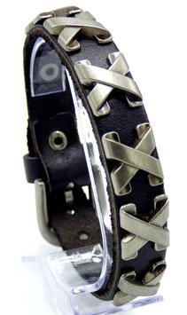 Bracelet Homme Triple X Noir