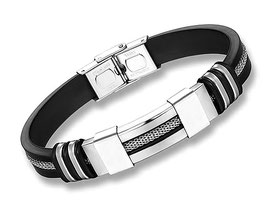 Bracelet Homme Street and City ARGENT