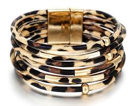 Bracelet F. Sunrise Leopard
