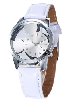 Montre Enfant Mouse White