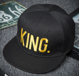 Casquette The King - Gold