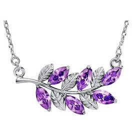 Collier Femme Romantic Purple