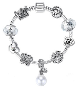 Bracelet Charm'S Winter White