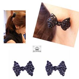 Boucles d'Oreilles F Black Style