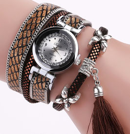 Montre Femme Casual W. Cacao