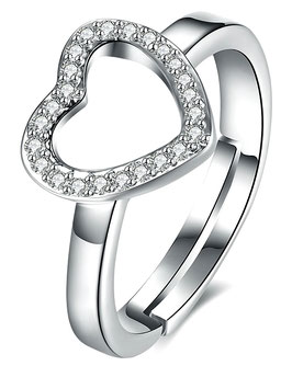 Bague For Love -  Argent