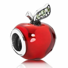 Charm Pomme Rouge Adam & Eve