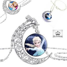 Collier Enfant Reine des Neiges Elsa