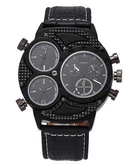 Montre Homme Watch Men's Luxury Black