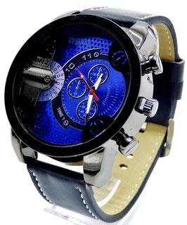 Montre Homme W-Look Bleue
