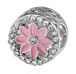 Charm Magnolia en Fleur de Cristal Rosé
