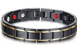 Bracelet Homme Gold Kingsman « Magnétique Effects »
