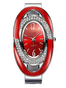 Montre Femme Ovalo Red